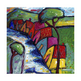 Edge of Town Giclee Print by Sara Catena