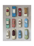 Toy Cars Giclee Print by  Symposium Design