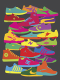 Sneakers Giclee Print by Yoni Alter