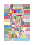 Type Giclee Print by Yoni Alter