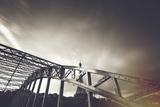 Bridge, Eiffel, Paris, France Photographic Print by Sebastien Lory