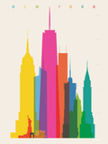 NYC Lámina giclée por Yoni Alter