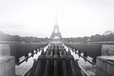 Fire Eiffel 2 Photographic Print by Sebastien Lory