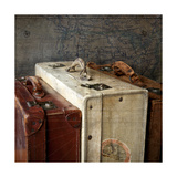 Suitcases 2 Giclee Print by  Symposium Design