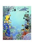 Puffer Reef Giclee Print by Tim Knepp
