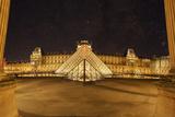 Louvre Pyramid, Paris, France Photographic Print by Sebastien Lory