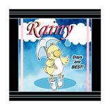 Rainy Days Giclee Print by Valarie Wade