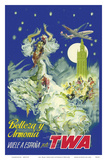 Spain - Belleza y Armonia (Beauty and Harmony) Posters by Pere Clapera