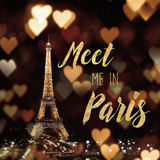 Meet Me in Paris Posters by Laura Marshall