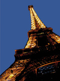 Eiffel Tower in Paris Photographic Print by  Whoartnow