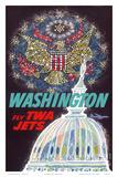 Washington, D.C. - Fly TWA Jets (Trans World Airlines) Prints by David Klein