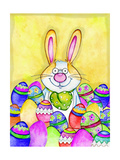 Easter Bunny Giclee Print by Valarie Wade