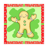 Gingerbread Cookie Giclee Print by Valarie Wade