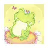 Giggles Giclee Print by Valarie Wade