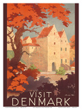 Visit Denmark - The Old Castle of Spottrup Prints by Sven Henriksen