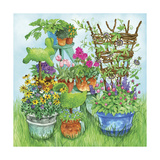 Garden Giclee Print by Wendy Edelson