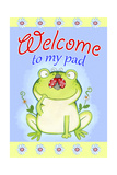 Welcome to My Pad Giclee Print by Valarie Wade