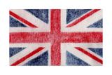 British Flag Giclée-tryk af  Whoartnow