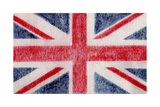 British Flag Giclee Print by  Whoartnow