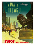 Chicago - TWA (Trans World Airlines) Gicléetryck
