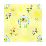 Froggie Garden Giclee Print by Valarie Wade