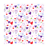Hearts 1 Giclee Print by Valarie Wade