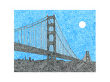Welcome to the Bay Giclee Print by  Viz Art Ink