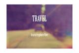Viajes Lámina giclée por  Vintage Skies