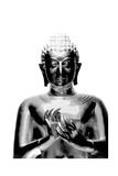Silver Budda Giclee Print by  Whoartnow