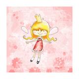 Fairy Princess Giclee Print by Valarie Wade