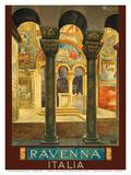 Ravenna - Italia (Italy) Posters by Osvaldo Ballerio