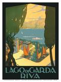 Lago di Garda (Lake Garda) - Riva, Italy Print by Antonio Simeoni