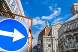 Cathedral Santa Maria del Fiore, Piazza del Duomo, Tuscany, Italy Photographic Print by Nico Tondini