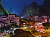 Evening Light on Yangshuo, China Photographic Print by Darrell Gulin