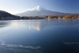 Lake Kawaguchi, Mount Fuji, Japan Photographic Print by Peter Adams