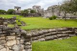 Tulum, Mayan Ruins, Playa del Carmen, Riviera Maya, Yucatan, Mexico Photographic Print by Charles O. Cecil