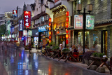 Neon Market Street, Guilin, China Photographic Print by Darrell Gulin