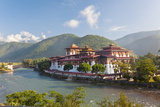 Punakha Dzong or Monastery, Punakha, Bhutan Photographic Print by Peter Adams