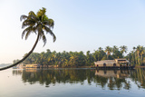 Traditional Houseboat, Kerala Backwaters, Alleppey, Kerala, India Photographic Print by Peter Adams