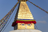 Boudhanath Stupa, Kathmandu Valley, Nepal Photographic Print by Peter Adams