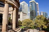 Shrine of Memories and Offices, Anzac Square, Brisbane, Australia Photographic Print by Peter Adams