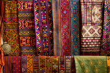 Bhutan Fabrics for Sale, Bhutan Photographic Print by Howie Garber