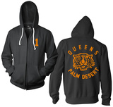 Zip Hoodie: Queens of the Stone Age- Palm Desert Zip Hoodie