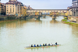 Ponte Vecchio, River Arno, UNESCO, Firenze, Tuscany, Italy Photographic Print by Nico Tondini