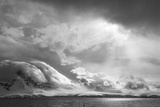 Antarctica, South Atlantic. Stormy Snow Clouds over Peninsula Photographic Print by Bill Young