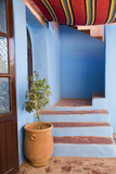 Morocco, Souss-Massa-Draa, Ait Benhaddou. Adobe Home's Entrance Photographic Print by Emily Wilson