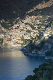 Morning View of Positano, Along the Amalfi Coast, Campania, Italy Photographic Print by Brian Jannsen