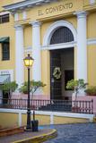El Convento Hotel in Plazuela de las Monjas, San Juan, Puerto Rico Photographic Print by Brian Jannsen