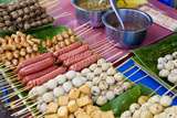 Thai Food Grill Sticks, Bangkok, Thailand Photographic Print by Peter Adams