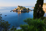 View of Isola Bella Island, Taormina, Sicily, Italy Photographic Print by Peter Adams